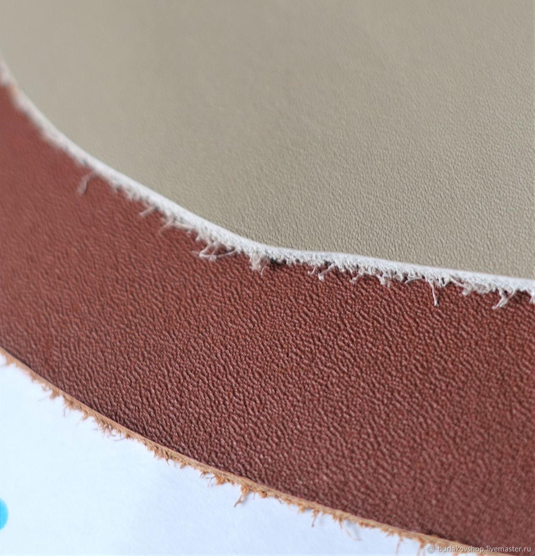 Baranil premium calfskin color beige, Leather, Krasnodar,  Фото №1
