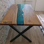 Для дома и интерьера handmade. Livemaster - original item Table-river. Handmade.