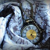 """Украшения ручной работы. Ярмарка Мастеров - ручная работа Часы-кулон """"Time in Paris"""". Handmade."""