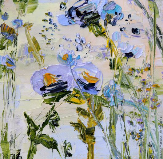 Большая авторская картина масляными красками на холсте с подрамником автор художник Марина Маткина купить заказать картину на дом
