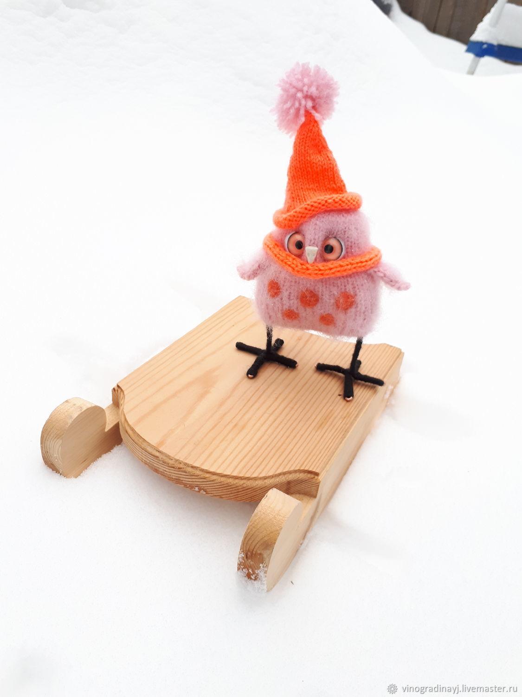 Совушка сова. Совёнок, Амигуруми куклы и игрушки, Антропово,  Фото №1