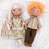 Куклы и игрушки ручной работы. Ярмарка Мастеров - ручная работа Пара игровых кукол.1550 р одна кукла. Handmade.