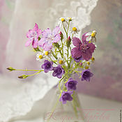Цветы и флористика handmade. Livemaster - original item A bouquet of field flowers. Handmade.