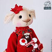 Куклы и игрушки ручной работы. Ярмарка Мастеров - ручная работа Овечка  Connie. Handmade.