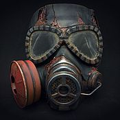 Субкультуры handmade. Livemaster - original item Stalker Mask. Handmade.