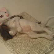 Куклы и игрушки ручной работы. Ярмарка Мастеров - ручная работа маркиза де Бланш( белая ориентальная). Handmade.