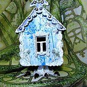 Для дома и интерьера ручной работы. Ярмарка Мастеров - ручная работа Чайный домик  Ледяная Избушка. Handmade.