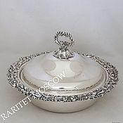 Винтаж ручной работы. Ярмарка Мастеров - ручная работа Блюдо кастрюля сковорода серебрение 9. Handmade.