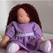 Куклы и игрушки ручной работы. Ярмарка Мастеров - ручная работа Вальдорфская кукла, Ирисочка 35 см. Handmade.