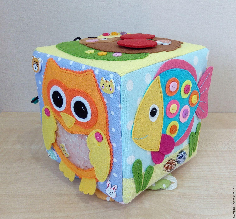 Кубик из фетра для малышей своими руками