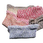 Сумки и аксессуары handmade. Livemaster - original item The bag: String bag shopping bag eco-style. Handmade.