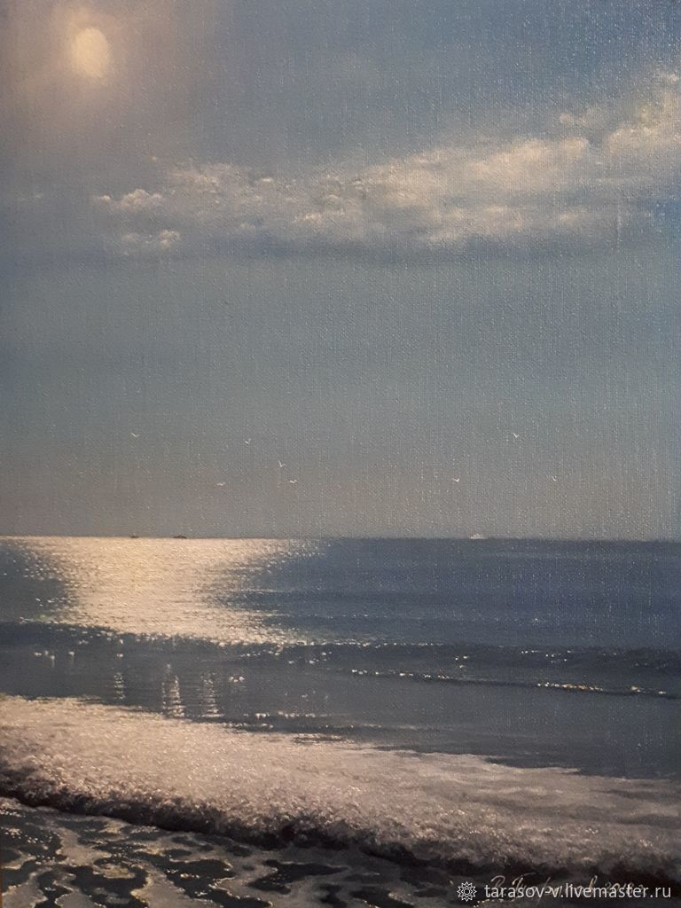 morning breeze. Sunny Beach (the artist Vladimir Tarasov), Pictures, Moscow,  Фото №1