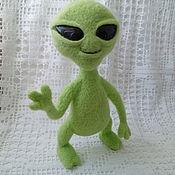 handmade. Livemaster - original item Alien doll Needle Felting. Handmade.