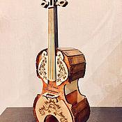 Для дома и интерьера handmade. Livemaster - original item Violin for tea bags. Handmade.