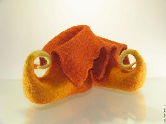 Обувь ручной работы. Ярмарка Мастеров - ручная работа. Купить Тапочки Кораблики. Handmade. Обувь детская, обувь для детей, подарок