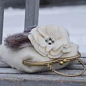 Сумки и аксессуары handmade. Livemaster - original item Winter - enchantress. Handmade.