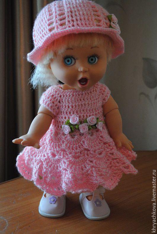 Одежда для кукол ручной работы. Ярмарка Мастеров - ручная работа. Купить Одежда для куклы Baby Face. Handmade. Розовый, подарок