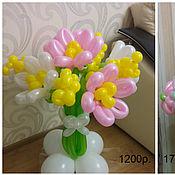 Подарки к праздникам ручной работы. Ярмарка Мастеров - ручная работа Цветы из воздушных шаров. Handmade.