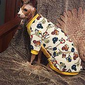 """Одежда для питомцев ручной работы. Ярмарка Мастеров - ручная работа Одежда для кошек """"Лесная сказка"""". Handmade."""
