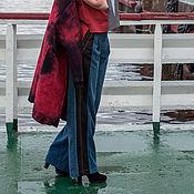 Одежда handmade. Livemaster - original item Pants corduroy and denim from the collection PolarPilot. Handmade.