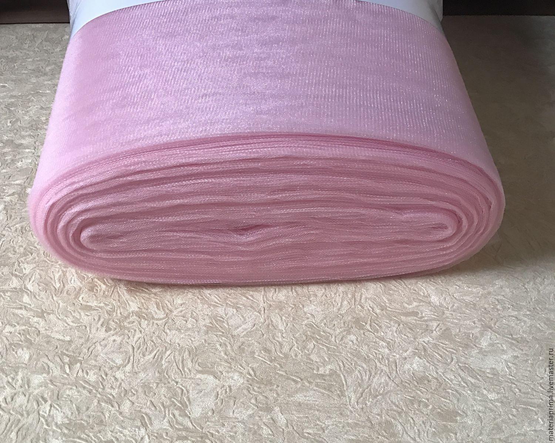 Шитье ручной работы. Ярмарка Мастеров - ручная работа. Купить Фатин светло  - розовый. Handmade. Фатин розовый, фатин для юбки