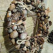 Цветы и флористика handmade. Livemaster - original item Christmas Wreath. Handmade.