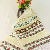 Свадебный салон handmade. Livemaster - original item Wedding embroidered towel wedding Towel linen embroidered towel. Handmade.