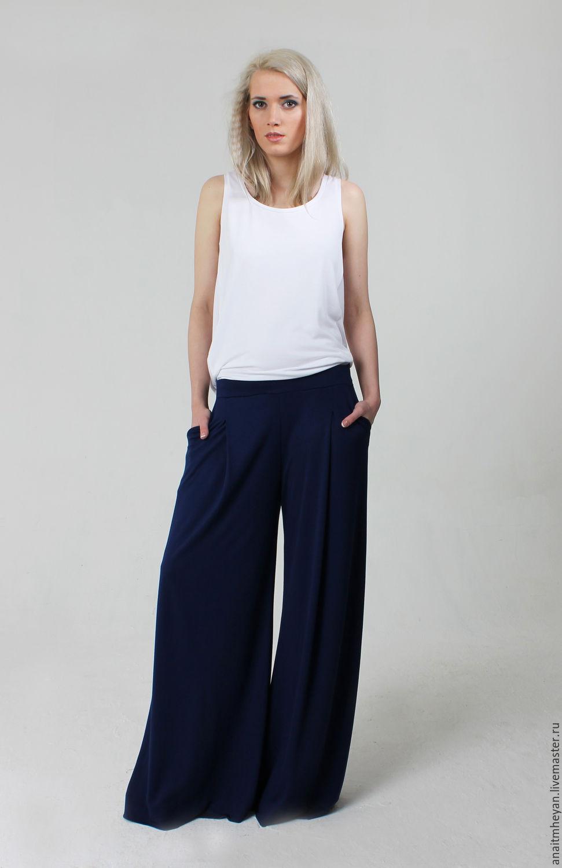 Женские брюки широкие доставка