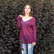 Одежда ручной работы. Ярмарка Мастеров - ручная работа Цветы корицы, аромат вишни. Handmade.