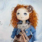 Куклы и игрушки handmade. Livemaster - original item Textile doll Olesya. Handmade.