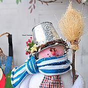 Подарки к праздникам ручной работы. Ярмарка Мастеров - ручная работа Снеговик. Снеговик. Снеговик). Handmade.