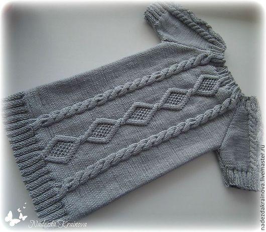 Одежда для девочек, ручной работы. Ярмарка Мастеров - ручная работа. Купить Детская туника. Handmade. Серый, платье