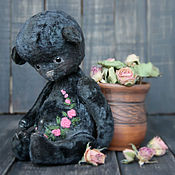 Куклы и игрушки ручной работы. Ярмарка Мастеров - ручная работа Живые цвета...Уголёк.... Handmade.