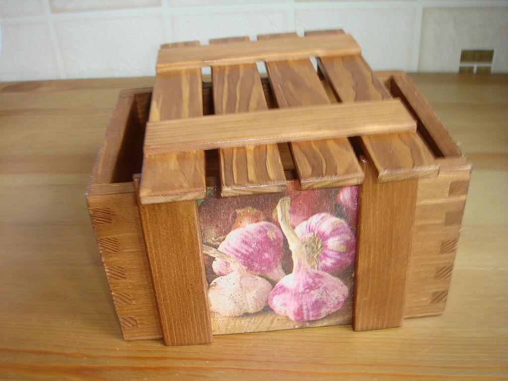 Ящик для лука своими руками