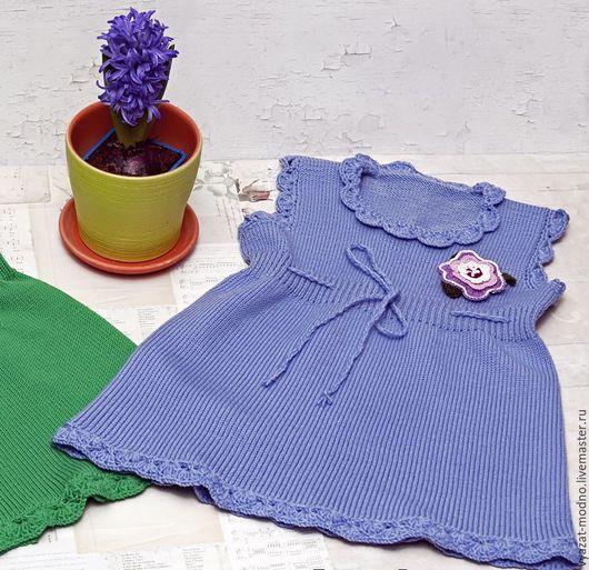 Одежда для девочек, ручной работы. Ярмарка Мастеров - ручная работа. Купить Платье для девочки. Handmade. Зеленый, детское платье