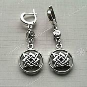 Русский стиль handmade. Livemaster - original item EARRINGS