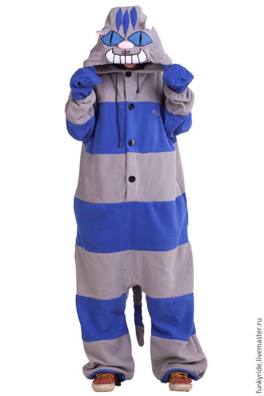 Costume kigurumi Cheshire cat Night NIGHT CHESHIRE CAT KIGU, Cosplay costumes, Magnitogorsk,  Фото №1