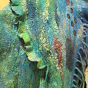 """Аксессуары ручной работы. Ярмарка Мастеров - ручная работа Палантин """"Два океана"""". Handmade."""