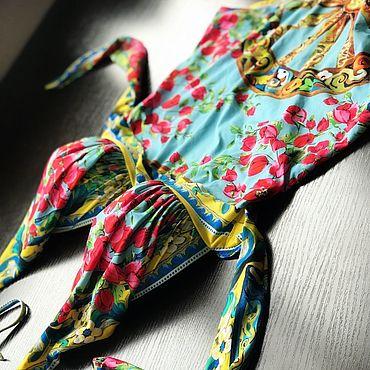 Одежда ручной работы. Ярмарка Мастеров - ручная работа Пляжный костюм.. Handmade.