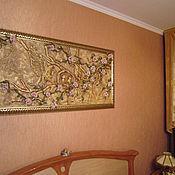 Картины и панно ручной работы. Ярмарка Мастеров - ручная работа Картина-панно из кожи. Handmade.