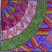 """Открытки ручной работы. Ярмарка Мастеров - ручная работа Почтовая открытка """"Мексиканские мотивы"""". Handmade."""