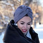 Аксессуары handmade. Livemaster - original item Turban-a turban of ecosense.. Handmade.