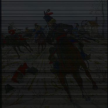 Картины и панно ручной работы. Ярмарка Мастеров - ручная работа Картина КАЗАЧЬЯ АТАКА. Handmade.