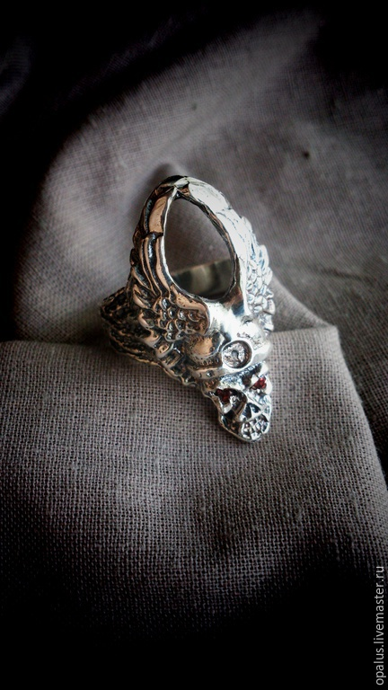 """Украшения для мужчин, ручной работы. Ярмарка Мастеров - ручная работа. Купить Перстень """"Повелитель"""". Handmade. Серебряное кольцо, байкерский стиль"""