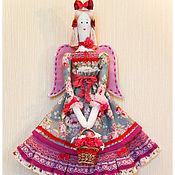 Куклы и игрушки ручной работы. Ярмарка Мастеров - ручная работа кукла - тильда  АНГЕЛ РОУЗИ. Handmade.