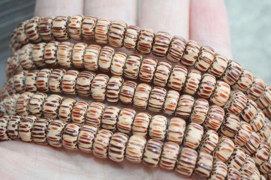 Для украшений ручной работы. Ярмарка Мастеров - ручная работа. Купить Пальмовое дерево, бусины - шайбы 9 мм. Handmade.