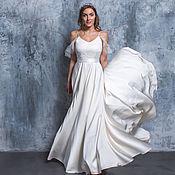 Одежда handmade. Livemaster - original item Wedding dress