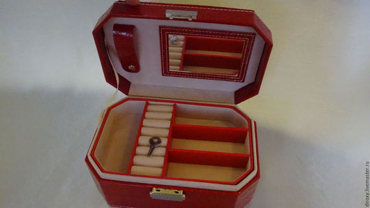 Органайзеры для рукоделия ручной работы. Ярмарка Мастеров - ручная работа. Купить Шкатулка для украшений 20х13. Handmade. Хранение украшений, для часов