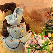 Подарки к праздникам ручной работы. Ярмарка Мастеров - ручная работа Торты из подгузников. Handmade.