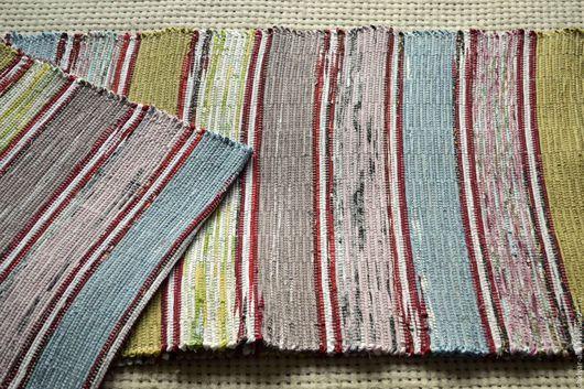 Текстиль, ковры ручной работы. Ярмарка Мастеров - ручная работа. Купить Половик ручного ткачества (№ 87). Handmade. Комбинированный